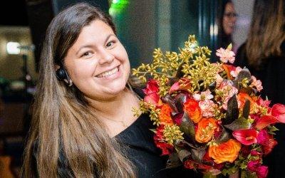 """Luciana Guerra: """"Vendo tranquilidade no dia do casamento"""""""